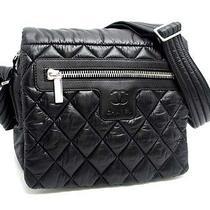 Chanel Black Nylon Coco Cocoon Shoulder Bag (Dh31593)  Photo