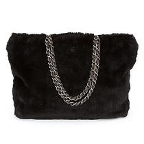 Chanel Black Rabbit Lapin Fur Shoulder Bag (Authentic Pre Owned) Photo