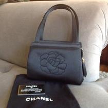 Chanel - Black Satin