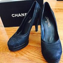 Chanel Black Shoes - Black - 9.5 Photo