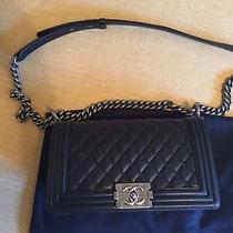 Chanel Boy Medium Black Photo