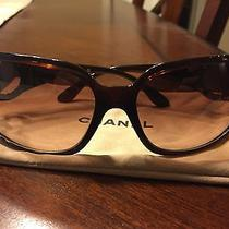 Chanel Brown Sunglasses- Authentic Photo