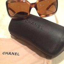 Chanel Brown Sunglasses With Mother of Pearl Cc's Photo