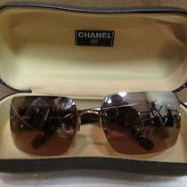 Chanel Brown Women's Sunglasses. Authentic. 4095-B C125/6u 62  15 125  Photo