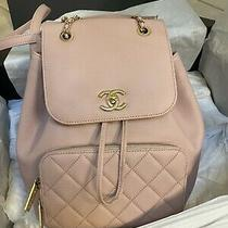 Chanel Business Affinity Pink Backpack  Photo