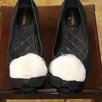 Chanel Camelia Flat Shoes Photo