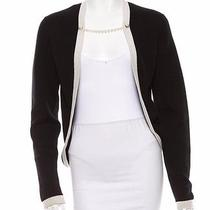 Chanel Cashmere Cardigan /jacket With Pearl Necklace Closure Photo