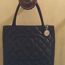 Chanel Caviar  Medallion Tote Photo
