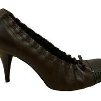 Chanel Classic Shoes Pumps Heels Sz 40 (Us 8.5 - 9) Photo