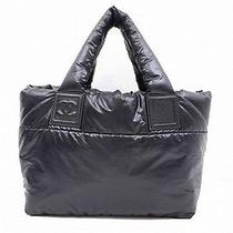 Chanel Coco Cocoon Nylon Tote Bag Free Shipping World Wide Photo