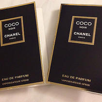 Chanel Coco Noir Edp 2 Carded Spray Samples  Photo