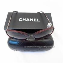 Chanel Coco Sunglasses Chain 5210 C5393l Red Photo