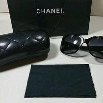 Chanel Coco Sunglasses Mother of Pearl Black 5183 501 3c 59/18 Black Case Dust  Photo