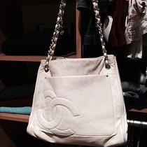 Chanel Cream ( Off-White) Chain Handle Handbag Photo