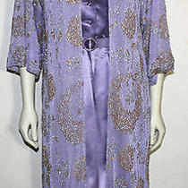 Chanel Creations Vintage Lavender Dress With Belt and Glitter Jacket  10 Photo