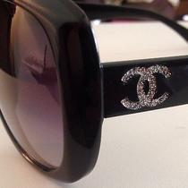 Chanel (Customized) sunglasses.100% authentic.great Condition... Photo