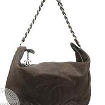Chanel Distressed Leather Luxury Ligne Modern Chain Hobo Bag Photo