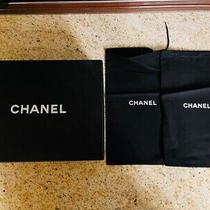 Chanel - Empty Storage Shoe Box - 11.25 X 8.5 X 4 - W/ Two Dust Bags Authentic Photo