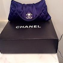 Chanel Evening Satin Sac Pouchette 12