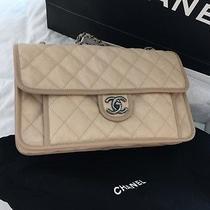 Chanel Flap Bag Beige Photo