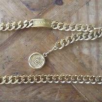 Chanel Gold Chain Belt  Photo