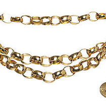 Chanel Gold Chain Link Medallion Belt Photo