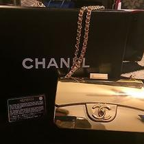 Chanel Gold Evening Purse Photo