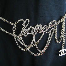 Chanel Gold Plated & Exceptionally Rare