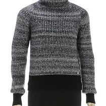 Chanel Gray Knit Turtleneck Sweater (Size 38) Photo
