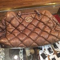 Chanel Green Cream Handbag  Photo