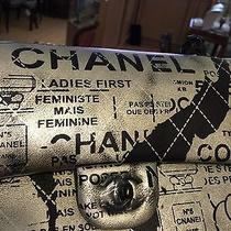 Chanel Hand-Painted Lambskin Classic Flap Bag Photo
