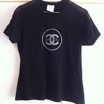 Chanel Identification Coco Chanel 1350 Rare Runway T-Shirt Made in France Small Photo