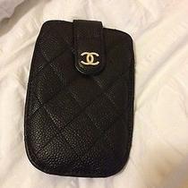 Chanel Iphone Case Black Photo