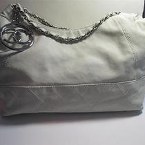 Chanel Ivory Coco Cabas Leather Shoulder Handbag Photo