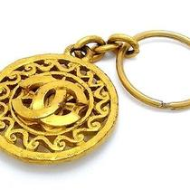 Chanel Key Holder Made in 1995 Gold Plated (Dh30479) Photo