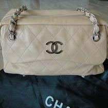 Chanel Lambskin Beige Handbag Photo