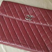 Chanel Leather Laptop Holder Photo