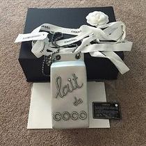 Chanel Limited Edition Silver Milk Jug Lait De Coco Grocery Handbag Purse New Photo