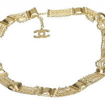 Chanel Matte Gold Chain Link 07 Belt Photo