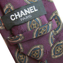 Chanel Men's Tie (9933) Photo
