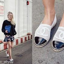 Chanel Mesh Espadrille Flats  Photo