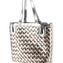 Chanel Metallic Basket Weawe Tote Photo