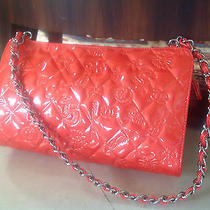 Chanel Mini Handbag Coral With Logos - New in Box Photo