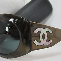 Chanel Mother of Pearl 5084-H Sunglasses  W/ Black Hard Case Photo
