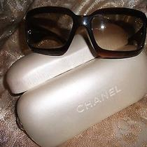 Chanel Mother of Pearl Brown Sunglasses Model 5076 Photo