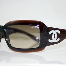 Chanel Mother of Pearl Rare Womens Designer Sunglasses Model 5076-H Photo