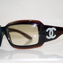 Chanel Mother of Pearl Rare Womens Designer Sunglasses Model 5076 Photo