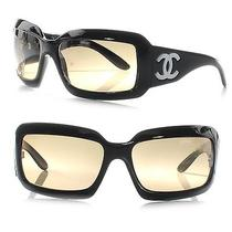 Chanel Mother of Pearl Sunglasses 5076 Black Cc Photo