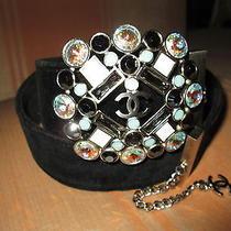 Chanel  Multicolor   Jewelry    Buckel  Black  Belt.  Size  34. Photo