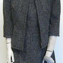 Chanel Navy & White Dress Suit Photo